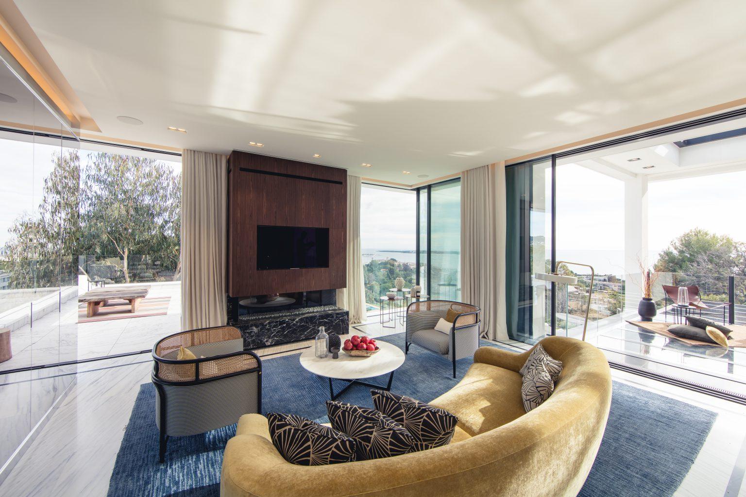 1 - villa luxe salon design confortable