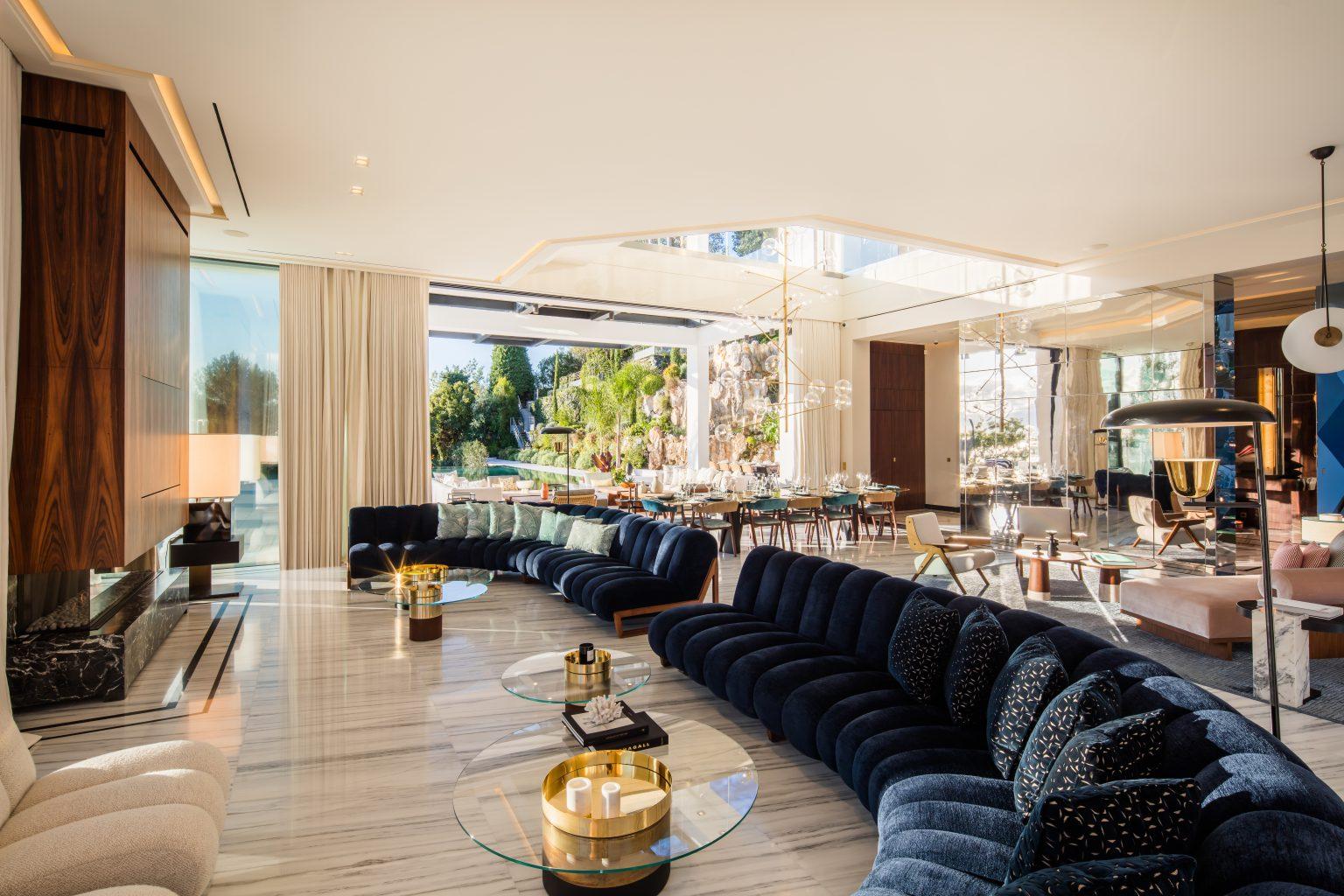 1_ villa design luxe cannes salon