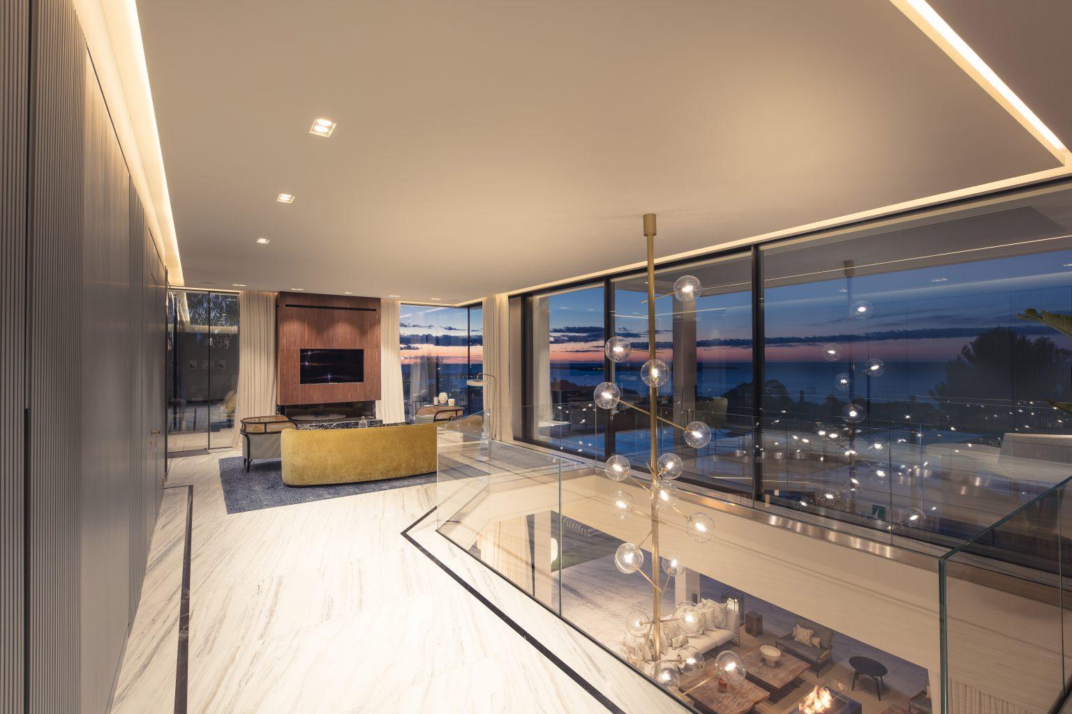 2 design salon luxe villa cannes
