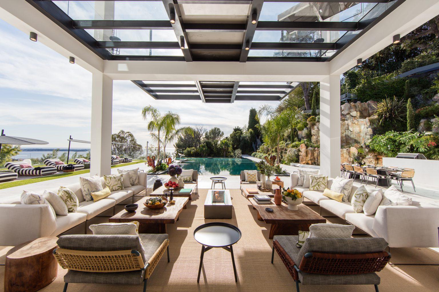 2-luxe vue mer piscine