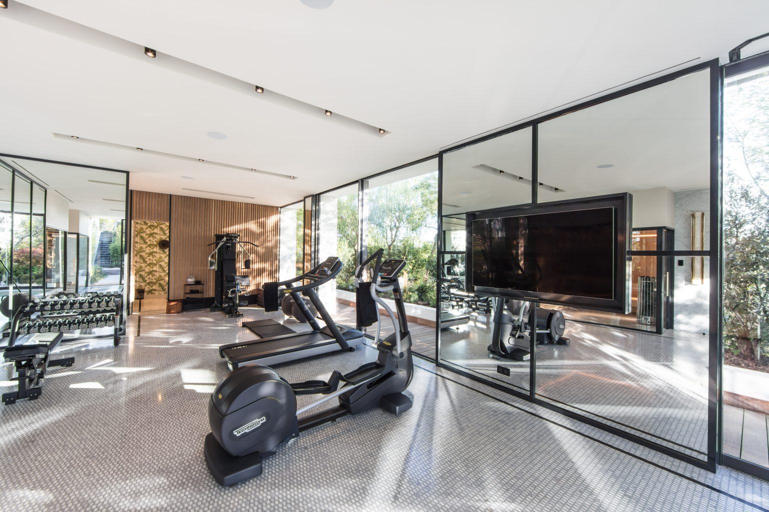 2 spa salle de sport massage villa
