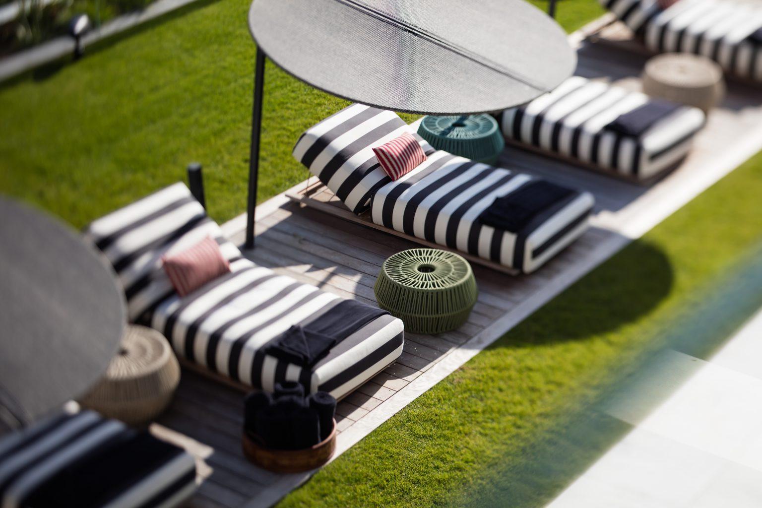 villa luxe piscine confortable